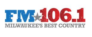 FM 106.1 Milwaukee's Best Country sponsor logo